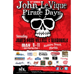 John Levique Pirate Days