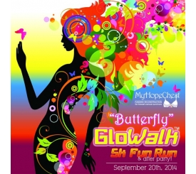 Butterfly gloWalk, 5k FUN run and PaRty